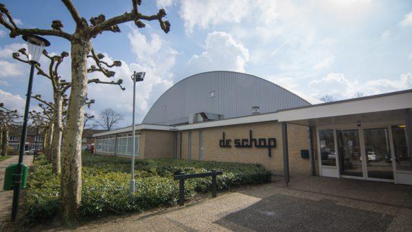 Sportcomplex de schop
