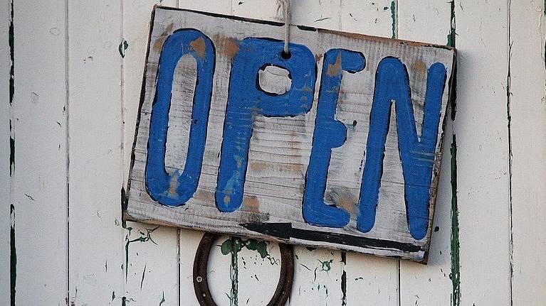 Wij gaan weer open!